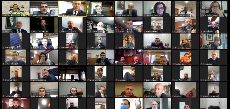 Hisarcıklıoğlu, Trabzon TSO, TB ve Of TSO üyelerini dinledi
